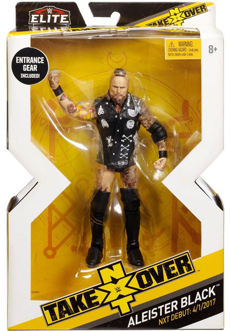 WWE Wrestling Elite NXT Takeover Aleister Black Action Figure
