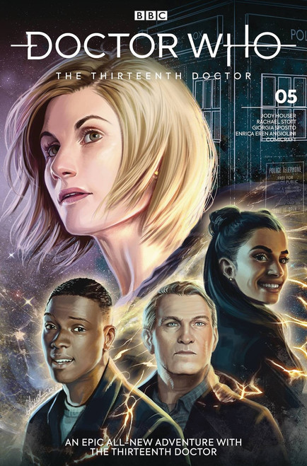 Titan Comics Doctor Who The Thirteenth Doctor #5 Comic Book [Claudia SG Iannicello Cover C]