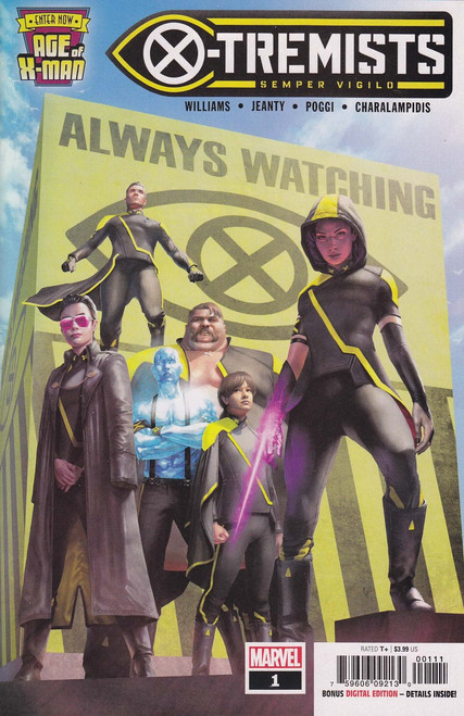 Marvel Comics Age of X-Men: X-Tremists #1 Comic Book