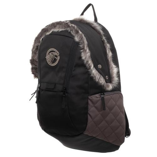 Game of Thrones House Stark Fur-Trim Backpack