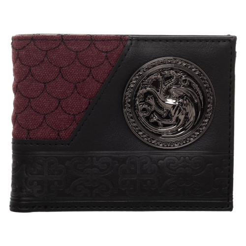Game of Thrones House Targaryan Bi-fold Wallet
