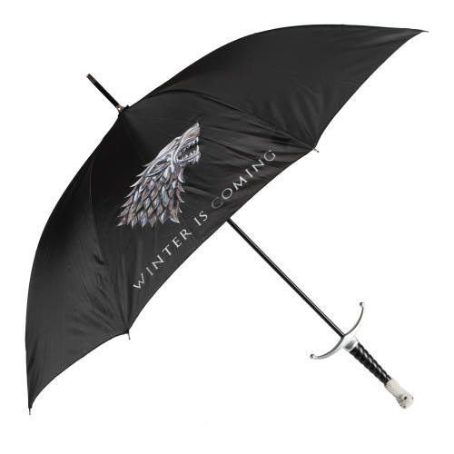 Game of Thrones House Stark / Langclaw Molded Handle Umbrella