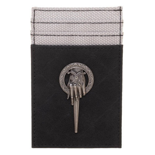 Game of Thrones Hand of the King Front Pocket Card Wallet