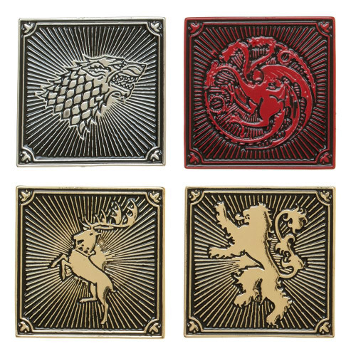 Game of Thrones Houses Lapel Pin Set