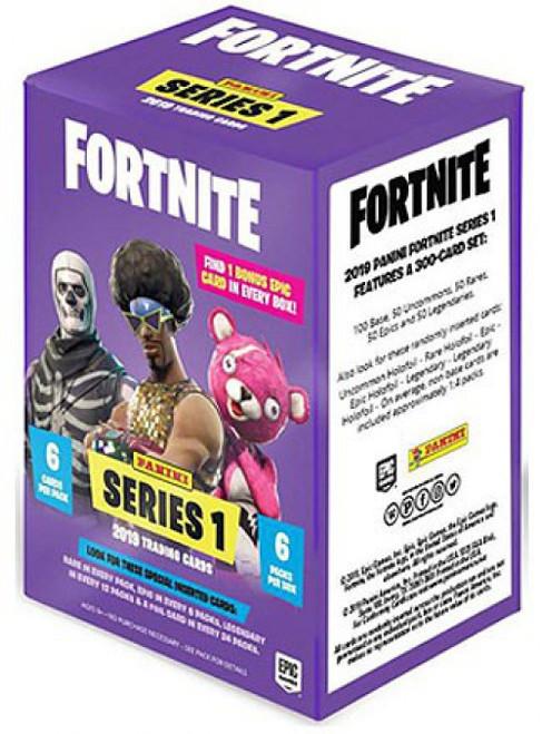 Fortnite Panini Series 1 Trading Card BLASTER Box [6 Packs]