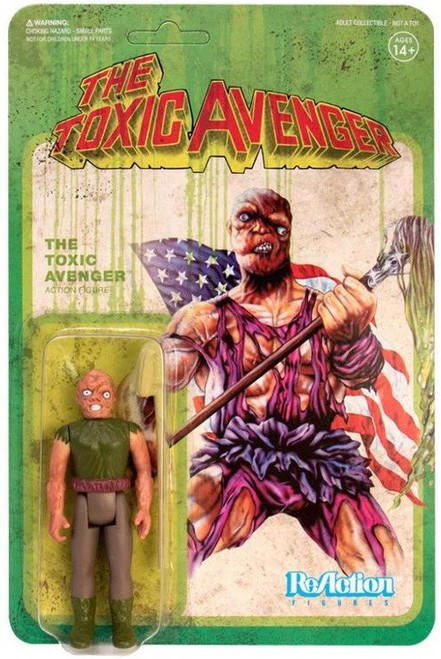 ReAction The Toxic Avenger Toxic Avenger Action Figure [With Mop]