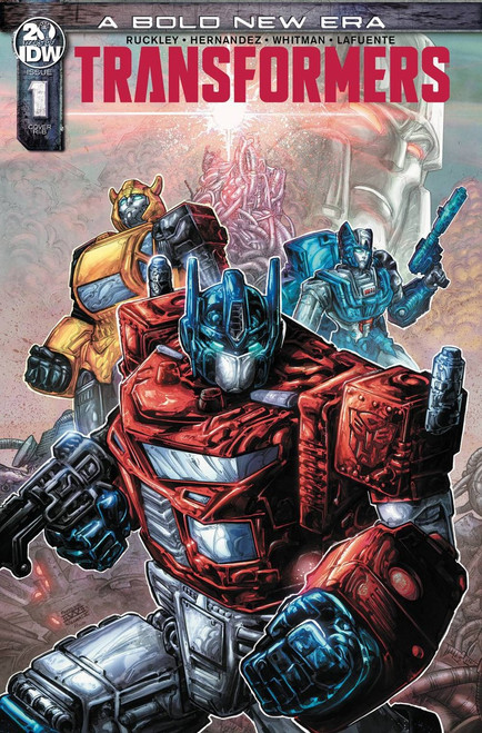 IDW Transformers #1 Comic Book [Freddie Williams Variant Cover]