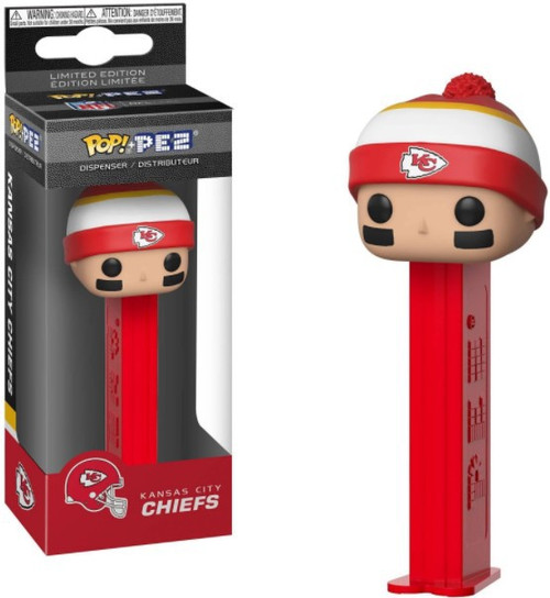 Funko NFL POP! Sports Football Kansas City Chiefs Candy Dispenser [Beanie]
