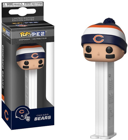 Funko NFL POP! PEZ Chicago Bears Candy Dispenser [Beanie]