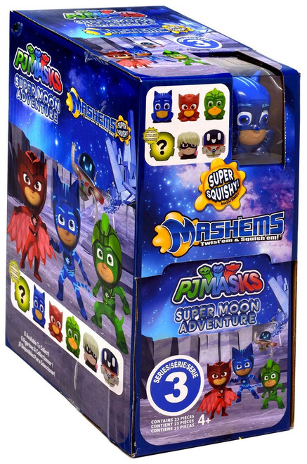 Disney Junior Mash'ems Series 3 PJ Masks Mystery Box [23 Packs]