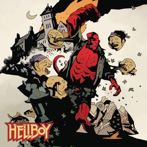 Hellboy Window Cling