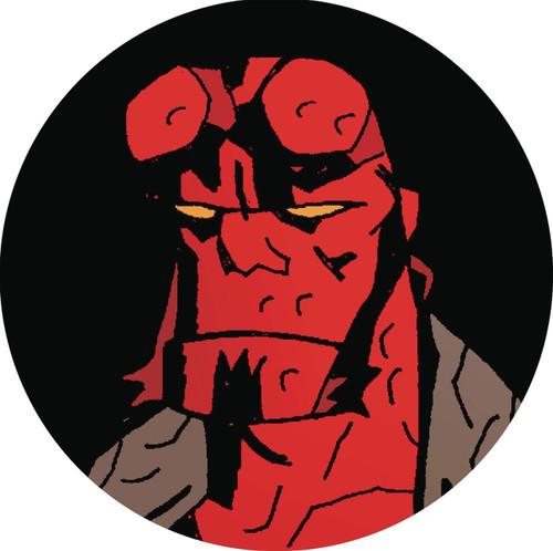Hellboy Button