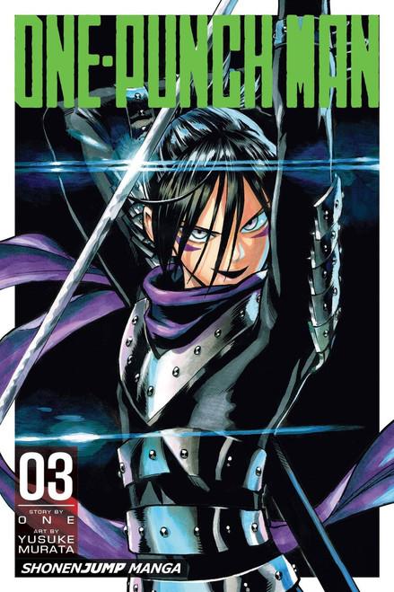VIZ Media One-Punch Man Volume 3 Manga Trade Paperback