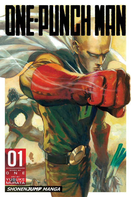VIZ Media One-Punch Man Volume 1 Manga Trade Paperback