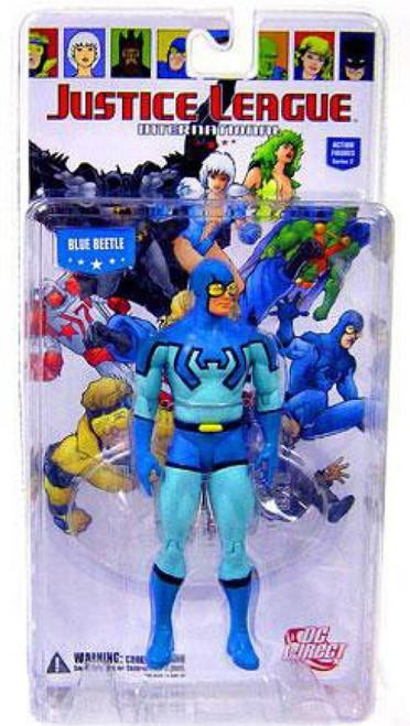 DC Justice League International Series 2 Blue Beetle Action Figure