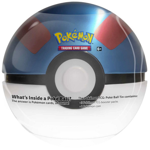 Pokemon Trading Card Game Great Ball Tin Set