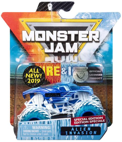 Monster Jam Fire & Ice Alien Invasion Exclusive Diecast Car
