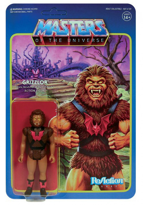 ReAction Masters of the Universe Series 5 Grizzlor Action Figure
