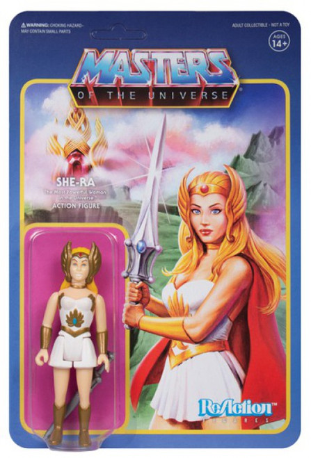 ReAction Masters of the Universe Series 5 She-Ra Action Figure