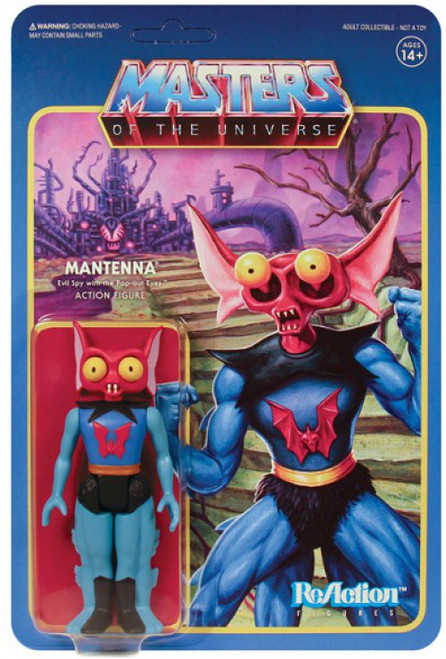 ReAction Masters of the Universe Series 5 Mantenna Action Figure
