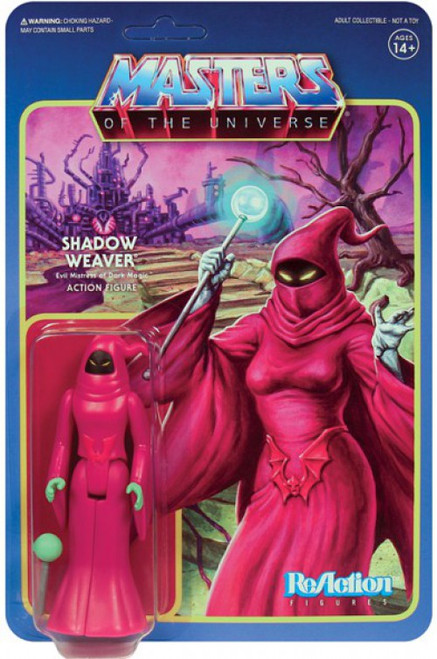 ReAction Masters of the Universe Series 5 Shadow Weaver Action Figure