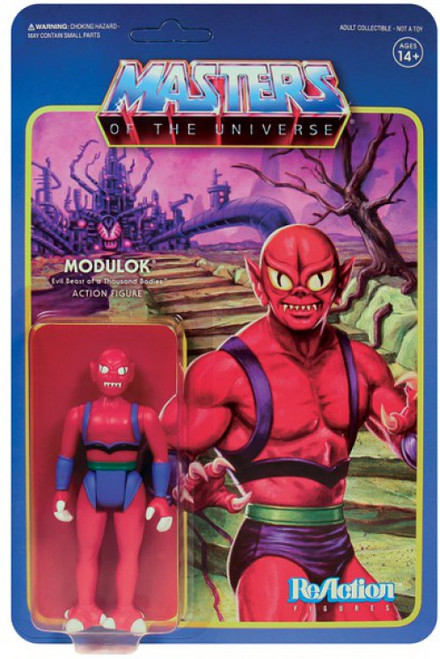 ReAction Masters of the Universe Series 5 Modulok B Action Figure