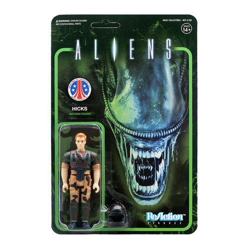 ReAction Aliens Hicks Action Figure