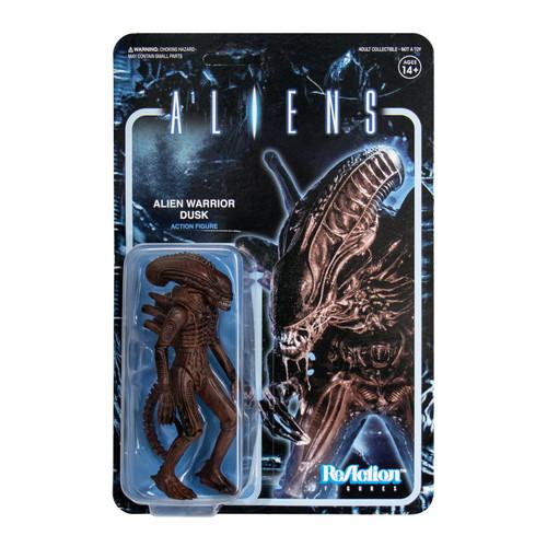 ReAction Aliens Alien Warrior Dusk Brown Action Figure