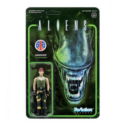 ReAction Aliens Vasquez Action Figure