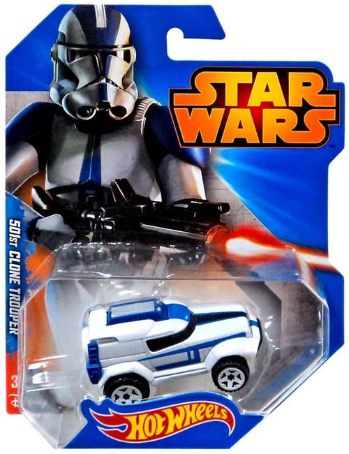 Hot Wheels Star Wars 501st Clone Trooper Diecast Car