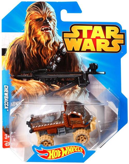 Hot Wheels Star Wars Chewbacca Diecast Car