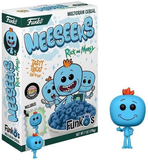 FunkO's Rick & Morty Meeseeks Exclusive 7 Oz. Breakfast Cereal