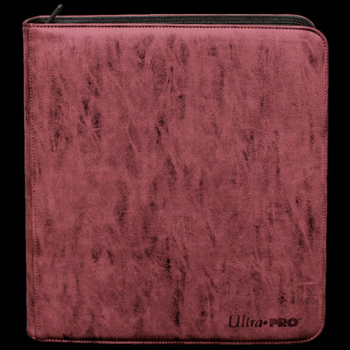 Ultra Pro Suede Collection Ruby Deck Builder's Playset PRO Binder