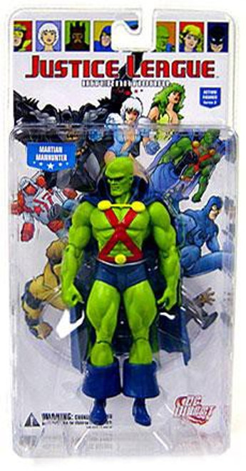 DC Justice League International Series 2 Martian Manhunter Action Figure [Damaged Package]