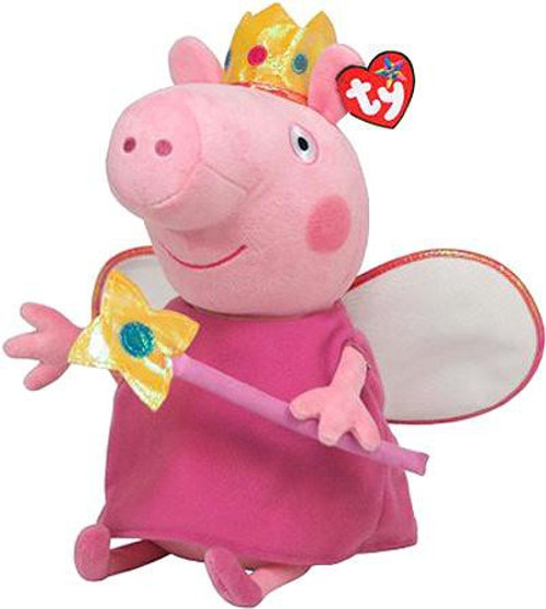 Beanie Babies Peppa Pig Princess Peppa Exclusive Beanie Baby Plush