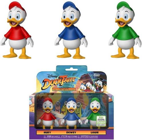 Funko Disney Afternoon DuckTales Huey, Dewey & Louis Exclusive Action Figure 3-Pack