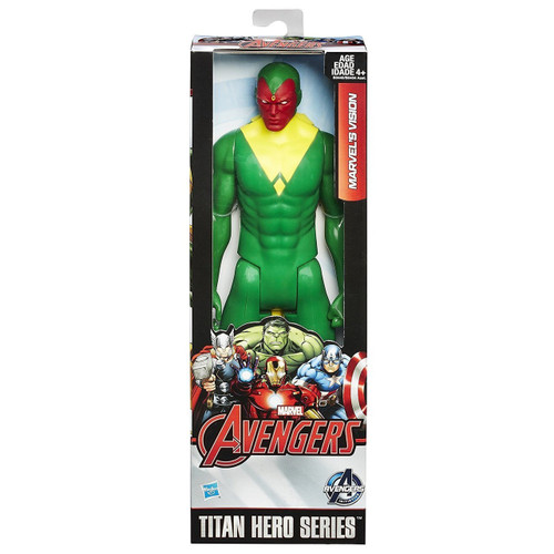 Avengers Titan Hero Series Marvel's Vision Action Figure [Damaged Package]