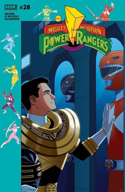 Boom Studios Mighty Morphin Power Rangers #28 Shattered Grid Comic Book [Jordan Gibson Variant]