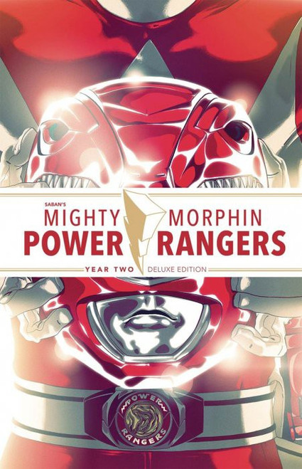 Boom Studios Mighty Morphin Power Rangers Year Two Deluxe Hard Cover Comic Book