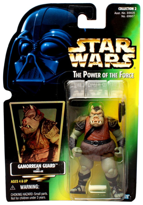 Star Wars Return of the Jedi Power of the Force POTF2 Collection 2 Gamorrean Guard Action Figure [Hologram Card]