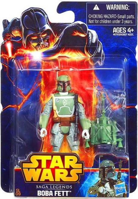 Star Wars Return of the Jedi 2013 Saga Legends Boba Fett Action Figure SL09