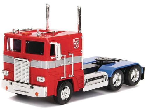 Transformers Generation 1 Optimus Prime 1:24 Die Cast Vehicle [G1 Version]