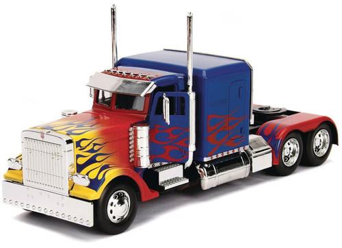 Transformers Optimus Prime 1:24 Die Cast Vehicle [2007 Movie Version]