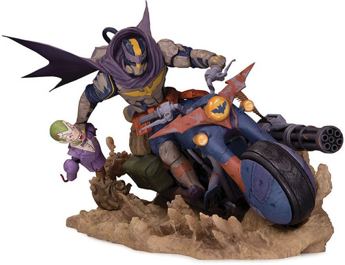Engines of Chaos Batman on Batcycle 6.8-Inch Statue