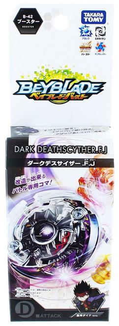 Beyblade Burst Japanese Dark Deathscyther.F.J Booster b-42
