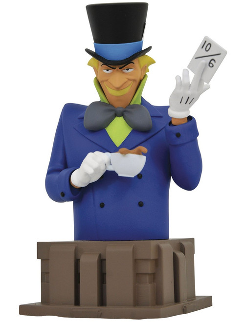 DC Batman The Animated Series Mad Hatter 6-Inch Bust