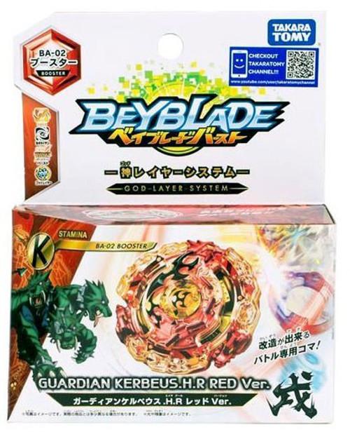 Beyblade Burst Japanese Guardian Kerbeus.H.R Red Ver. Booster BA-02