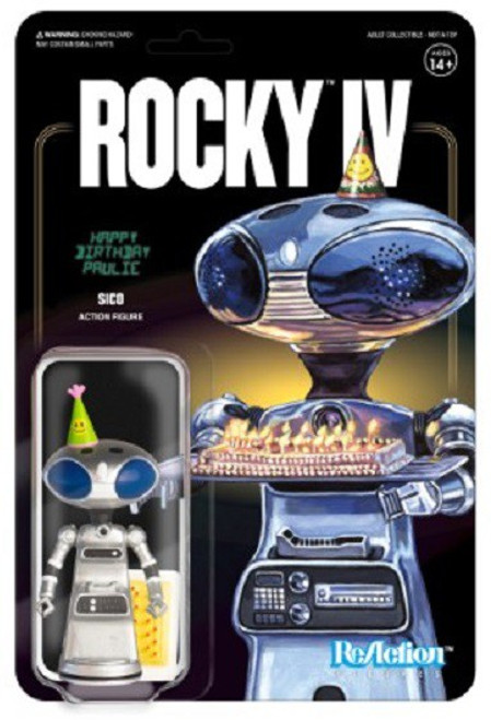 ReAction Rocky IV Sico Action Figure [Paulie's Robot]