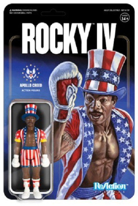ReAction Rocky IV Apollo Action Figure