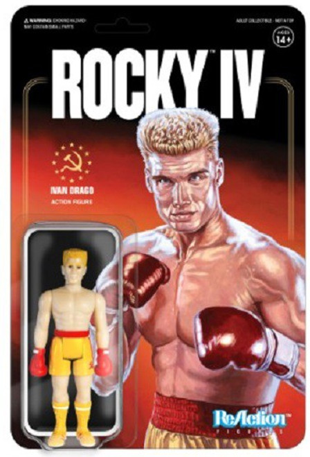 ReAction Rocky IV Ivan Drago Action Figure